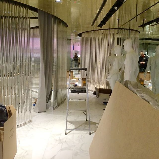 #tbt #postconstructioncleaning at high-end fashion store on #madisonave in #manhattan.  Call 732-360-0173 or visit DCCS.biz for a free estimate.  #CleaningBusiness  #commercialcleaning #cleaningservice #cleaning #dccs #dccsbiz #newjersey #nj #gardenstate