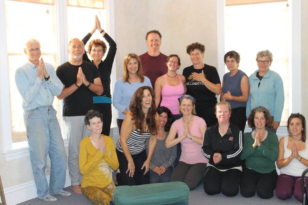 Yoga for Passover 2015.JPG