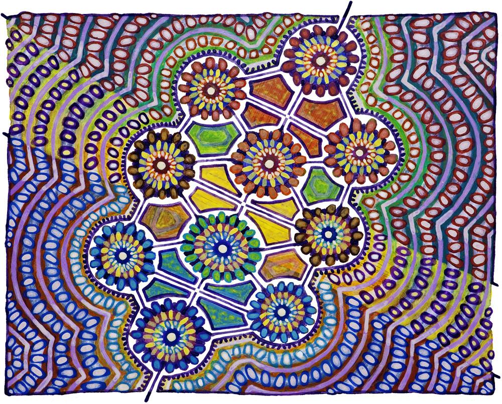 Art by David Friedman, www.kosmic-kabbalah.com