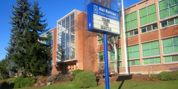 AKI KUROSE mIDDLE sCHOOL (Seattle) -