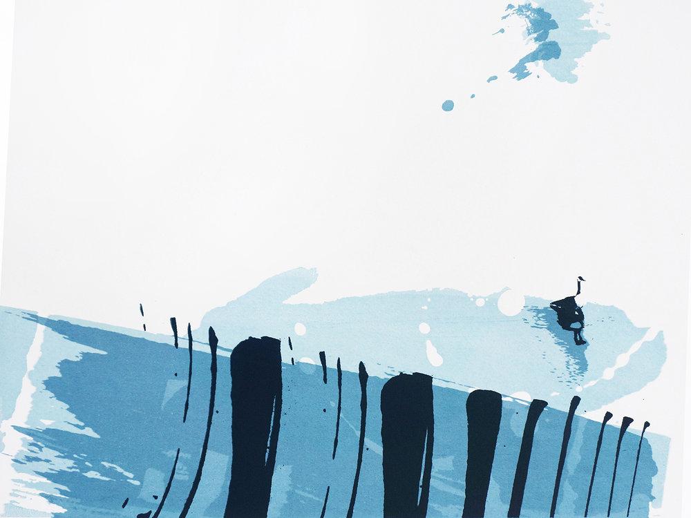Ape_Bleakney_'Crossing The River' Cover (Blues), Screen Print, 2017.jpg