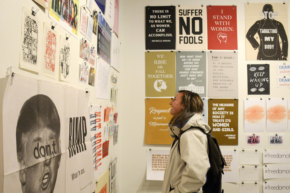 - The posters were included in Amplify + Multiply: Recently Printed Activist Ephemera at The Press at Colorado College.