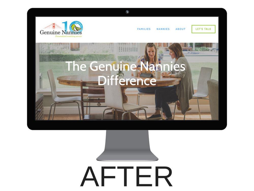 Squarespace_Genuine_Nannies_Website_Design_Case_Study_Women_On_A_Mission_Erin_Brennan_Brand_Strategist