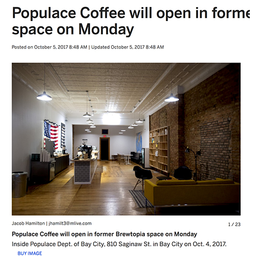Populace Coffee Bay City