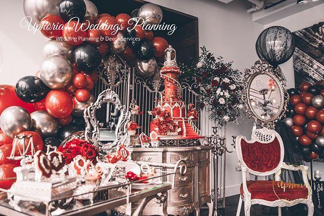 Beauty and the beast... No more cartoons and figures 📷 @iancakery . . . . #uphoria#uphoriaweddinggs #torontobirthdayparty #torontoevents #birthday#uphoria #torontowedding #trontoplanner #torontofashion #luxurylife #luxurydinner#weddingdecor#weddingplanner #luxurywedding#eventplanning #flowerarch#centerpiece #whitewedding#wedluxe #reception#chargers#floraldecor #headtable#modern#elegant#royal #beautyandthebeast