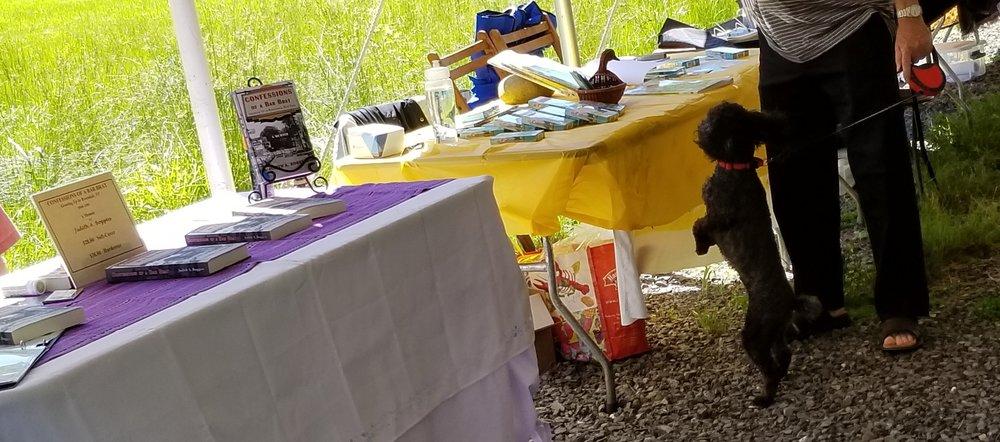 Important Book Fair Dog #1
