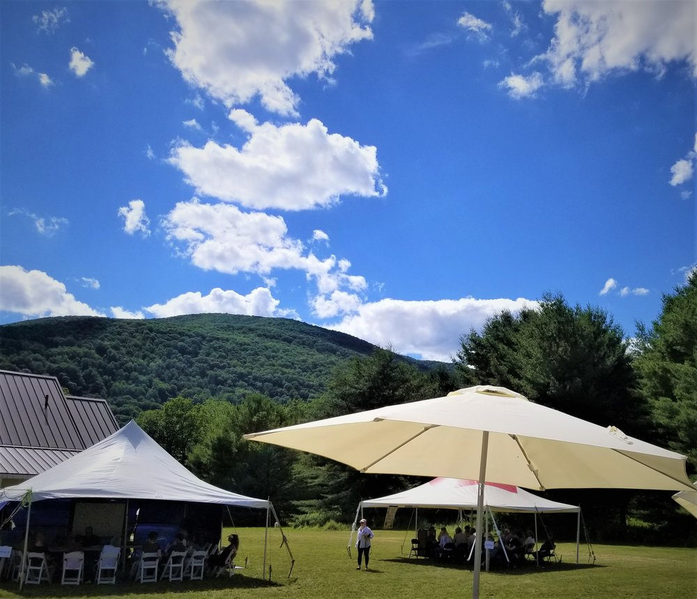 thank you CIC for an extremely Catskills day