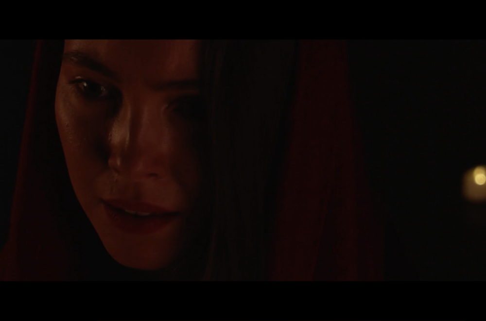 "Katerina as a tai chi warrior ""Uma"" directed by Jiashu Li  PASSWORD: uma"