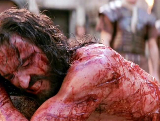Jesus beaten