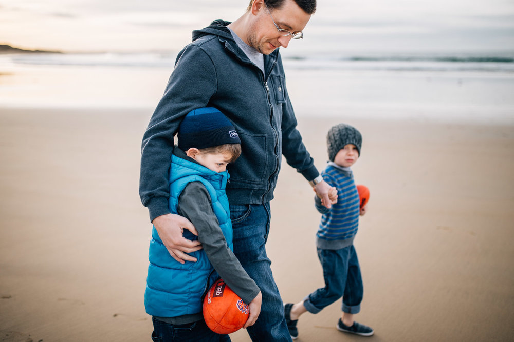 father and sons on the beach II (1 of 1).jpg