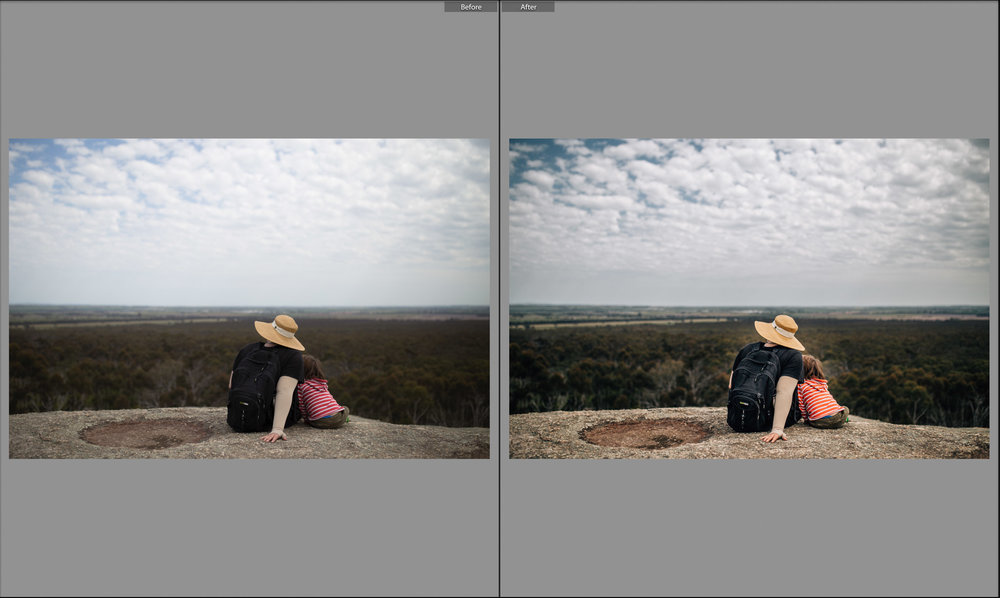before and after mother and son on cliff.jpg