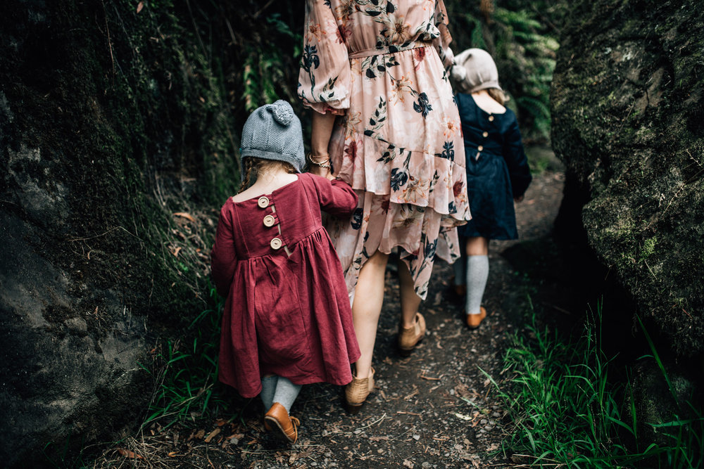 mother-and-daughters-walking-through-rainforest (1 of 1).jpg