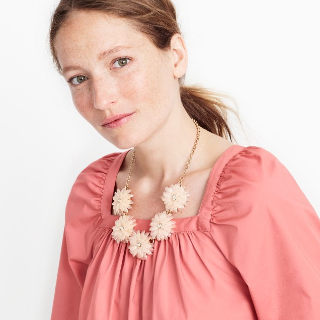 Dahlia Burst Necklace  by Jcrew Factory $29.50