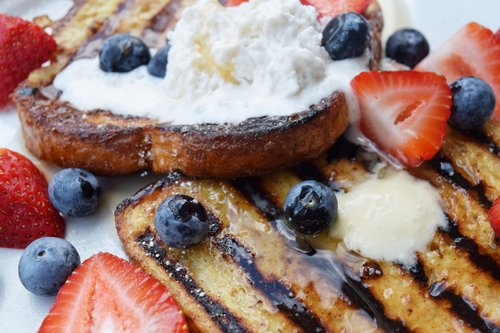 Hearty Grilled French Toast