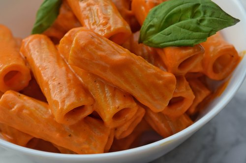 Roasted Red Bell Pepper Cream Sauce