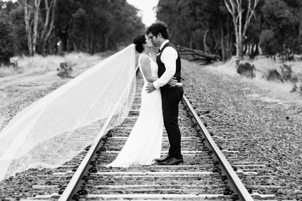 Cherree & Bobby - Waratah Weddings | Huntly