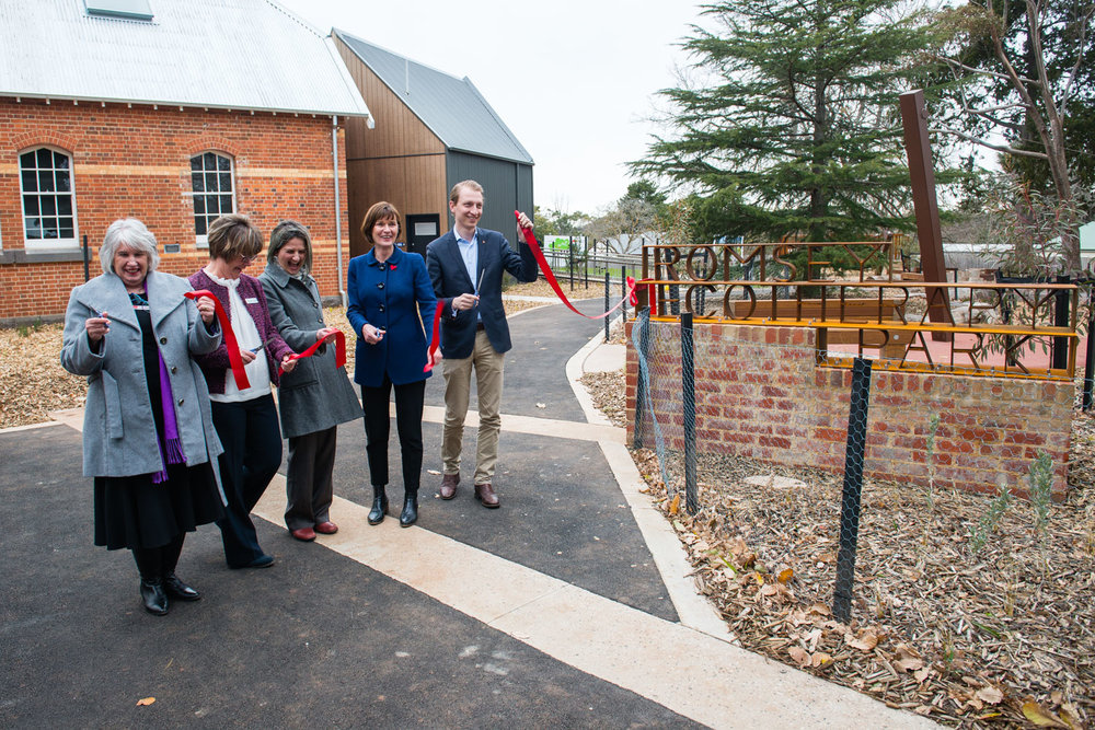 Romsey Ecotherapy Park _ Official Opening