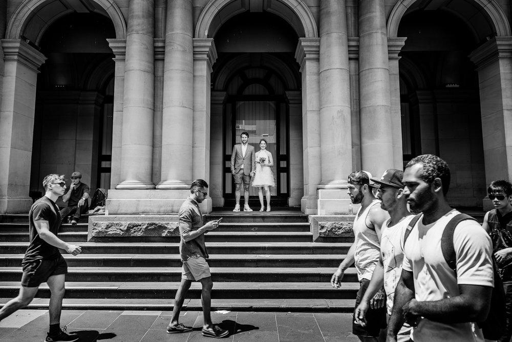 Meghann & Oliver - GPO | Melbourne