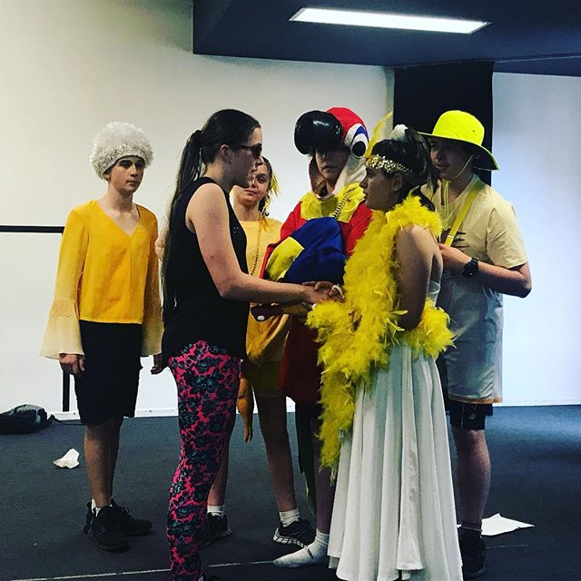 The chickadee commune - cluck a long. #teenactingclasses #indooroopilly