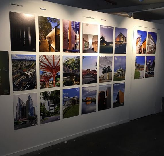 The Montagne centre and Ulumbarra Theatre joined an impressive line-up of projects at the Victorian Exhibition of Award entries for the Australian Institute of Architects. The Exhibition runs from the 23rd May to the 4th June at No Vacancy Gallery