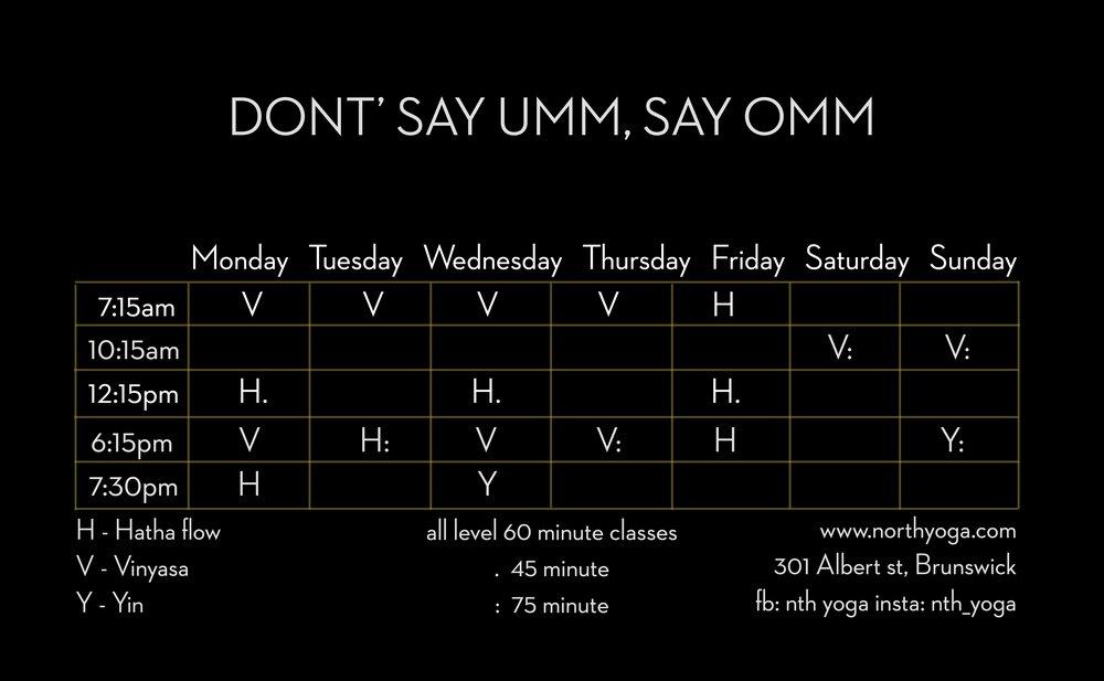 north-yoga-brunswick-timetable2