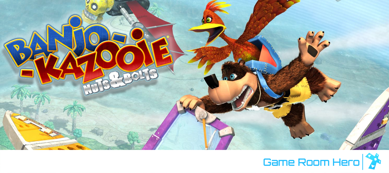 Banjo Kazooie: Nuts & Bolts Review — Game Room Hero