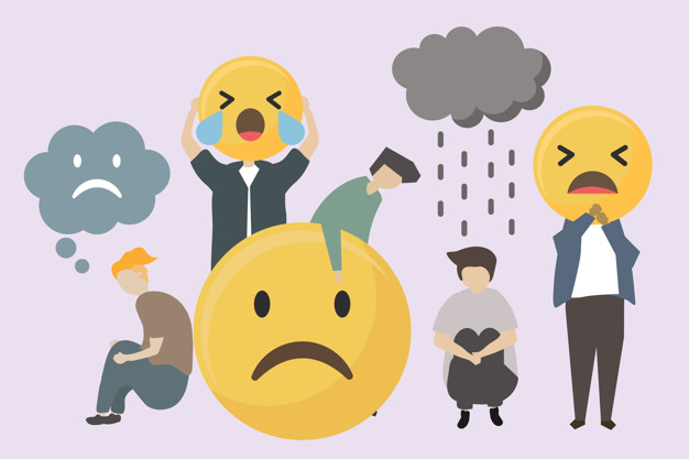 arg eller ledsen med ADHD