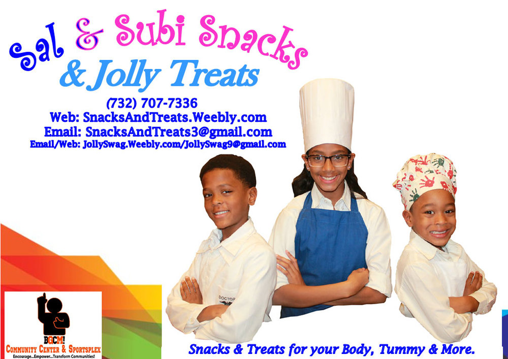 Sal & Subi Snacks & Jolly Treats banner