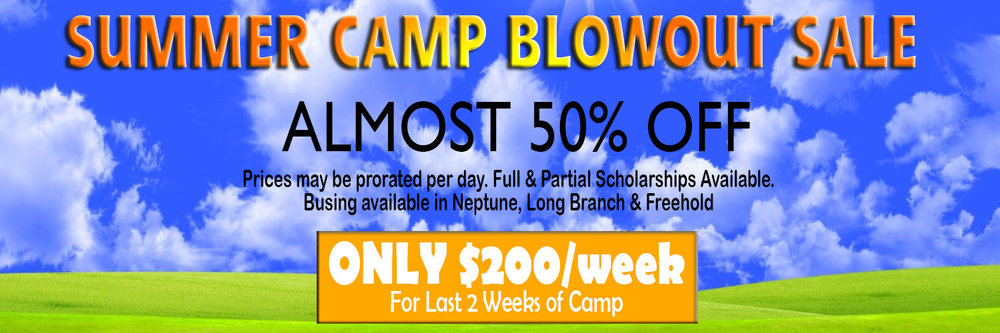 "USE DONATE BUTTON ABOVE TO MAKE ""SUMMER CAMP BLOWOUT SALE"" PAYMENT"