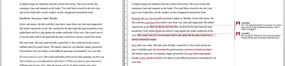 Click to enlarge: Excerpt chapter 2 from  As Long As She Lives  by Darcy Conroy