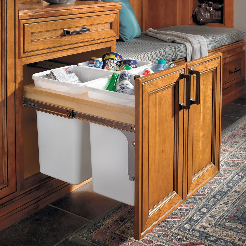 Recycling Center  Source -  Masterbrand Cabinetry