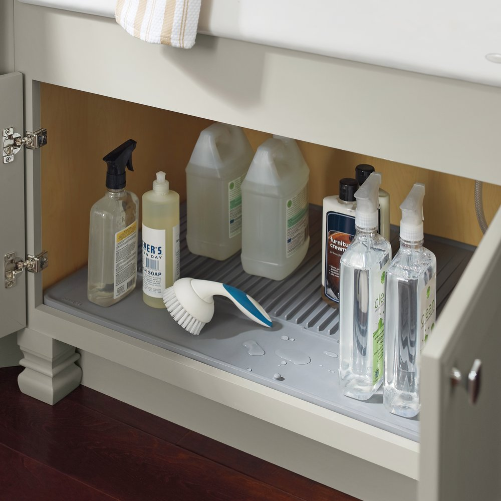 Sink Mat  Source -  Masterbrand Cabinetry