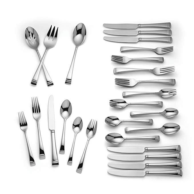 Lenox Urbane 51-piece Flatware Set