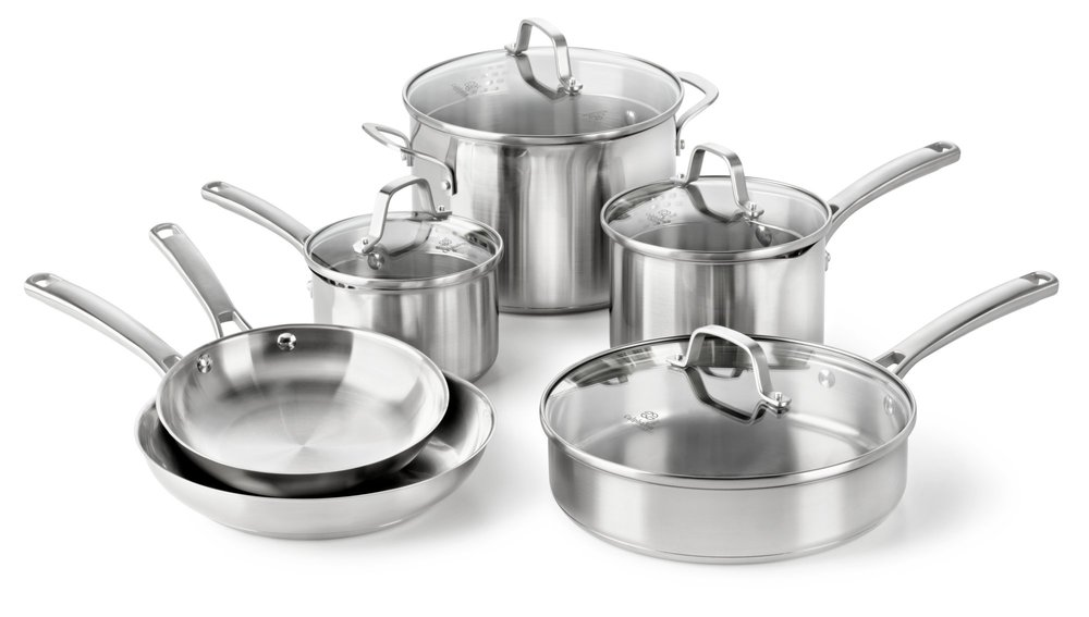 Calphalon Classic Stainless Steel Cookware Se