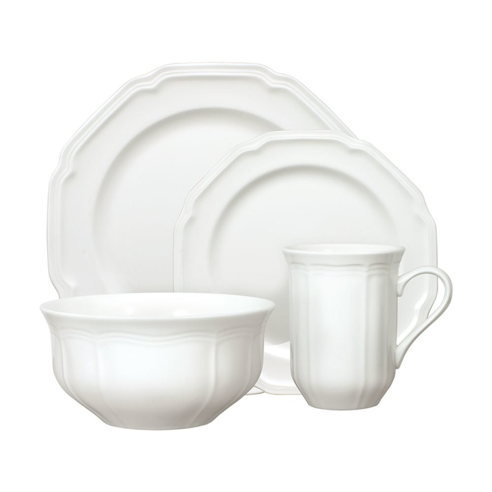 Mikasa Antique White 16-Piece Dinnerware Set