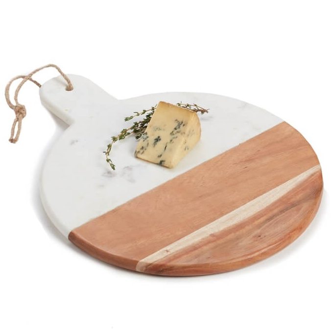 Round Marble & Acacia Wood Serving Board Nordstrom Anniversary Sale.jpg