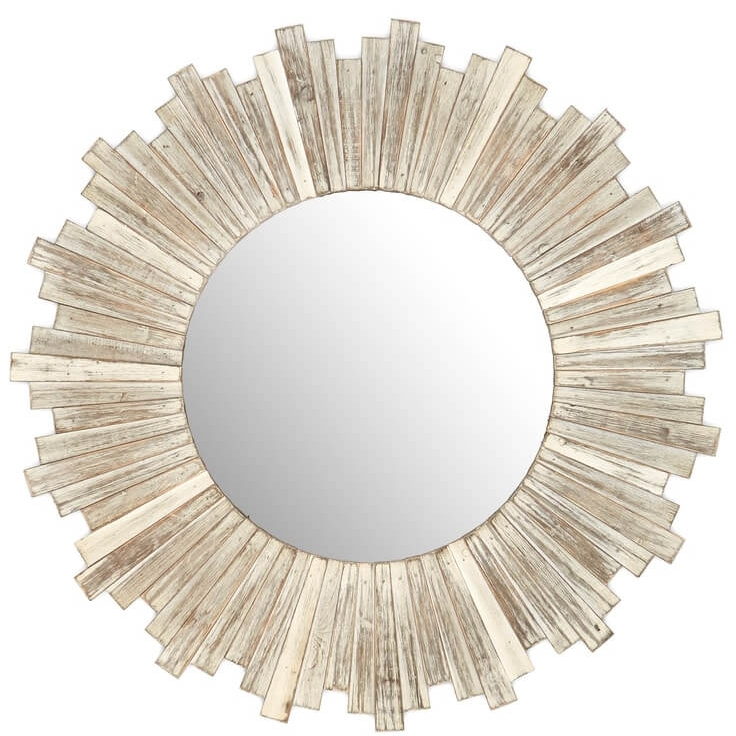 E2 CONCEPTS Round Wooden White Mirror Rustic Round Weathered White Wash Nordstrom Anniversary Sale.jpg