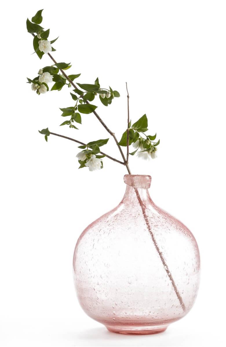 Treasure & Bond Large Glass Vase Nordstrom Anniversary Sale Pink Green