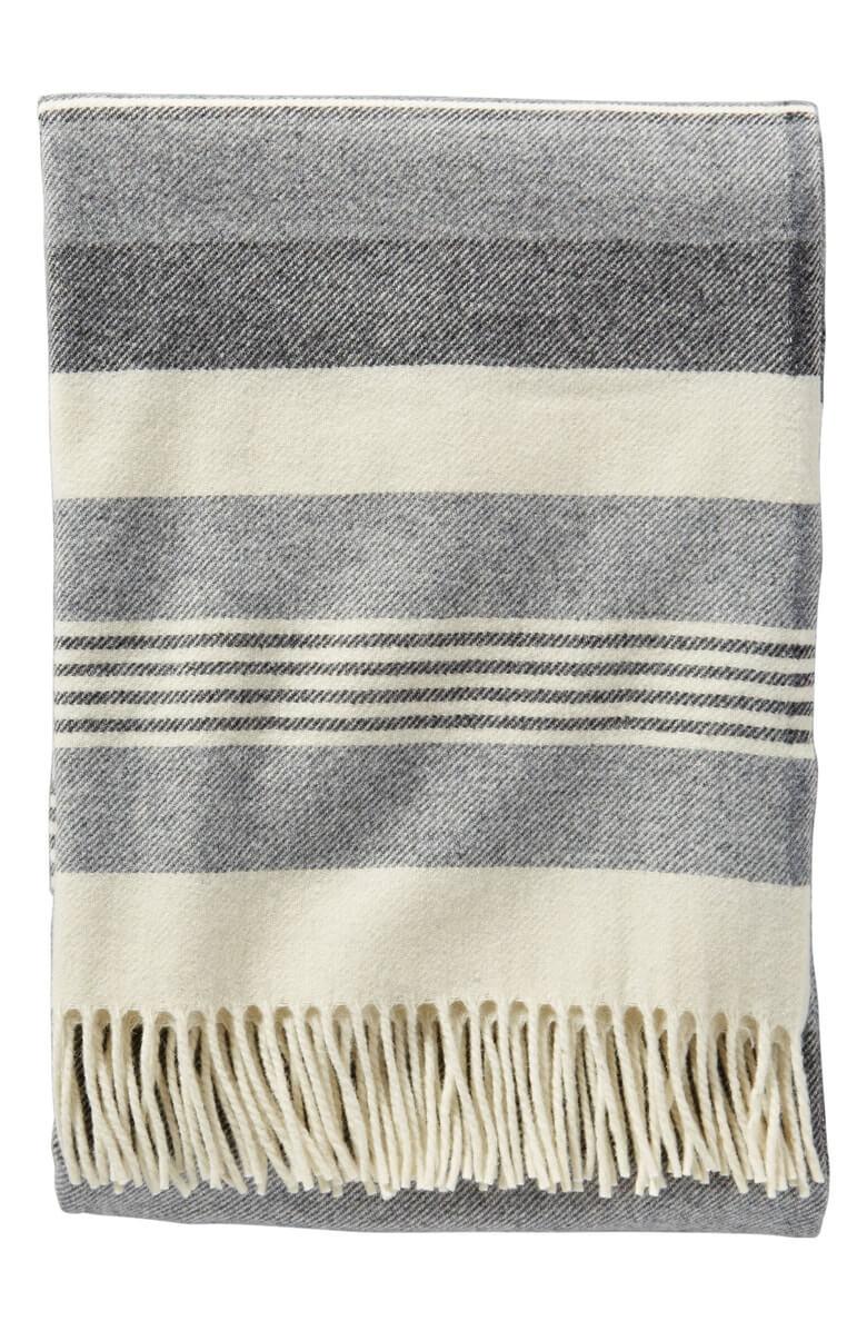 Pendleton Horizon Stripe Lambswool Throw Blanket Desert Dusk Nordstrom Anniversary Sale