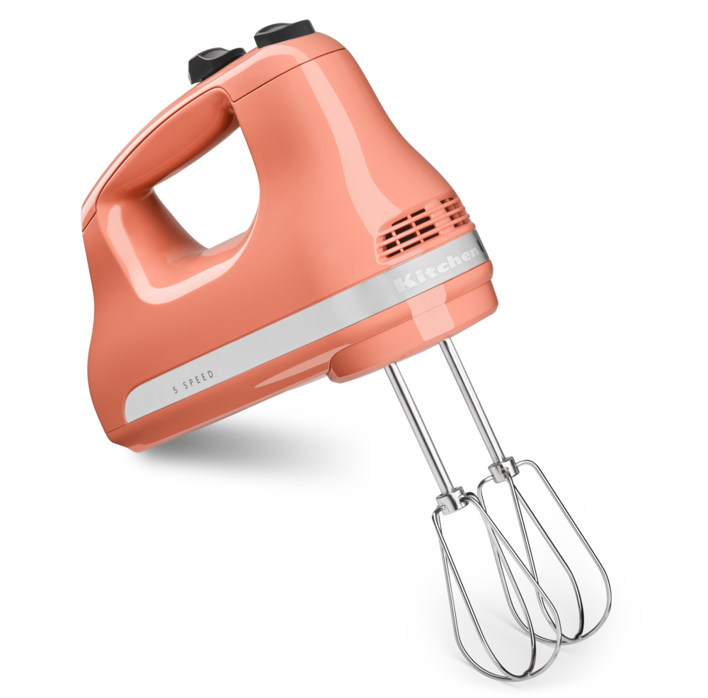 KitchenAid 5-Speed Ultra Power Hand Mixer Bird of Paradise
