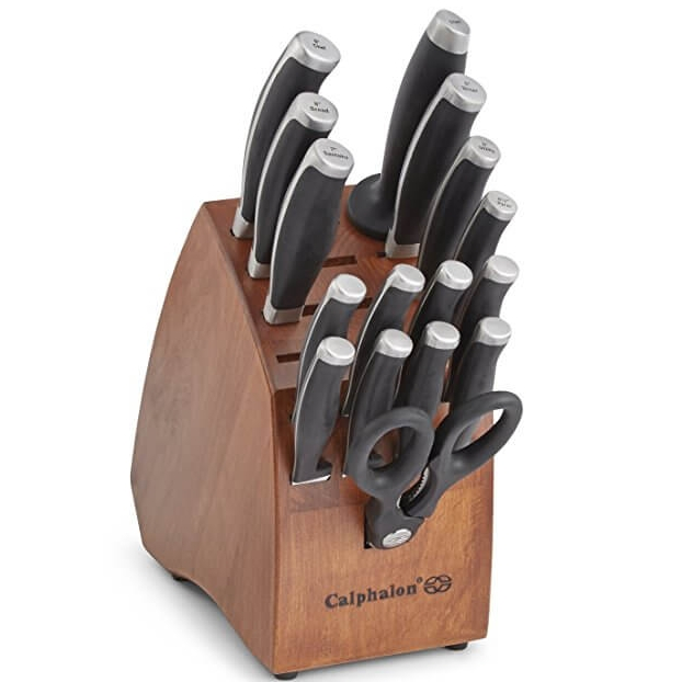 Calphalon Contemporary Cutlery 17 Piece Set - Nicole Janes Design