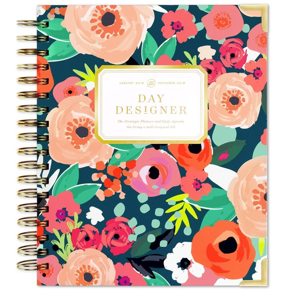 Day Designer 2019 Spiral Planner Secret Garden