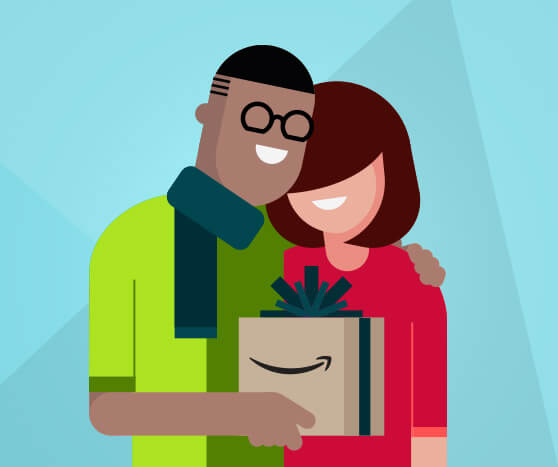 Amazon Prime 3 and 6 month Gift options