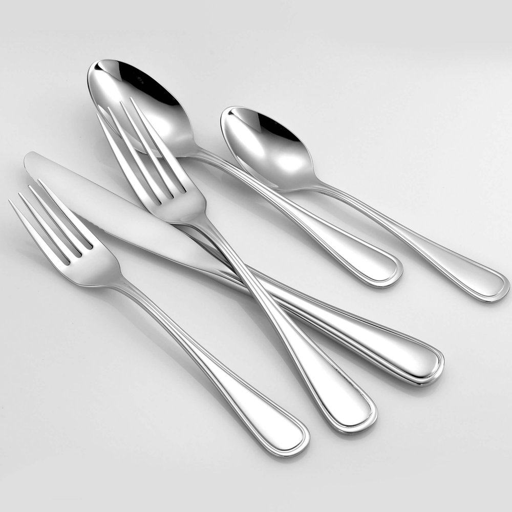 Classic Rim 18/10 Stainless Steel Flatware Liberty Tabletop