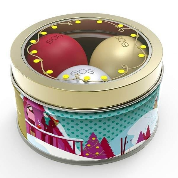 EOS Limited Edition Holiday 2018 Lip Balm Set of 3