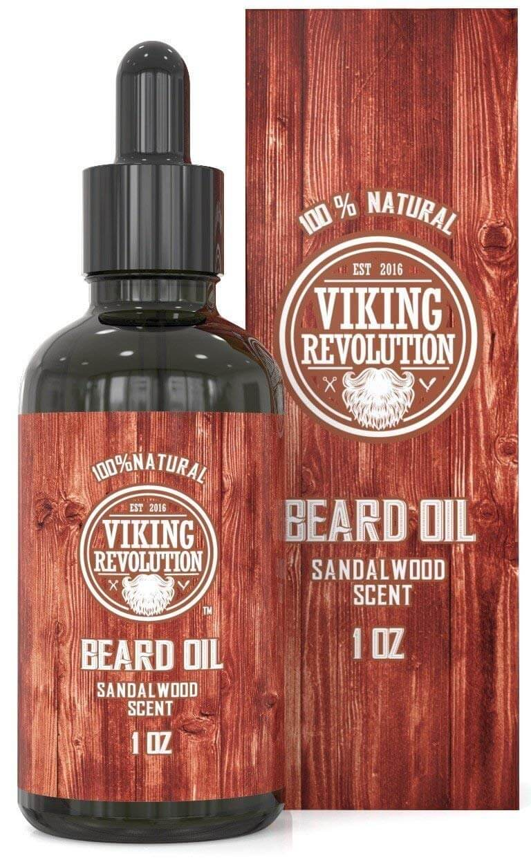 Beard Oil Conditioner Sandalwood Scent