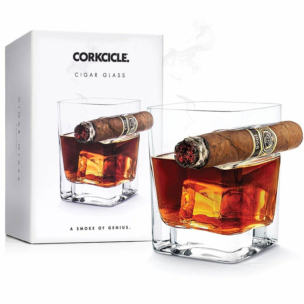 Corkcicle Double Old Fashioned Cigar Glass