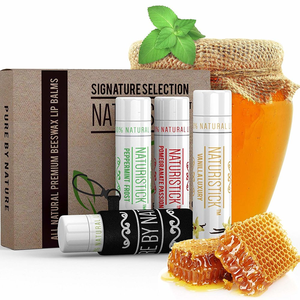 Naturistick All Natural Lip Balm Gift Set