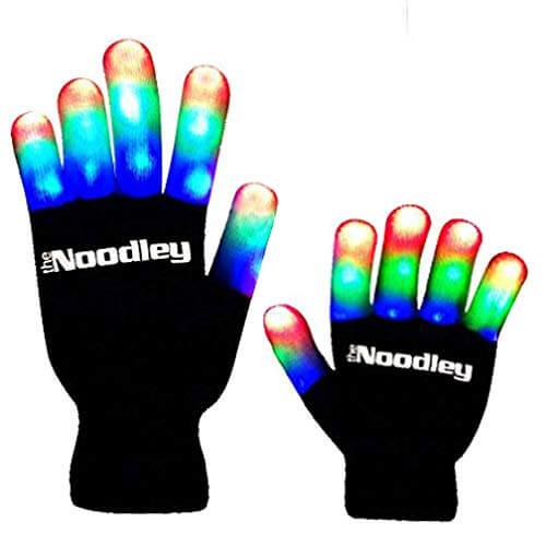 The Noodley Children LED Finger Light Gloves Light Up Gloves