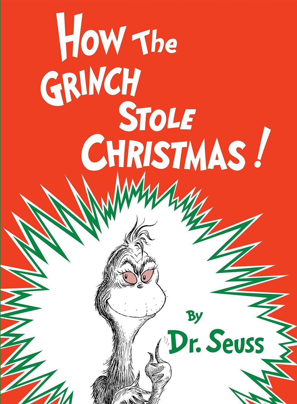 How the Grinch Stole Christmas! Classic Seuss Hardcover by Dr Seuss